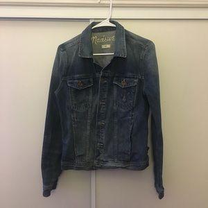 Madewell Denim Jacket Sz Large VGUC